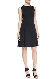 J Brand Ready to Wear Alexa Sleeveless Pleat-Skirt Dress