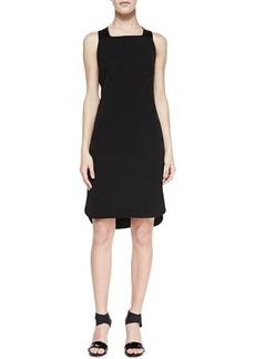 J Brand Ready to Wear Antonina Racerback High-Low Dress, Black