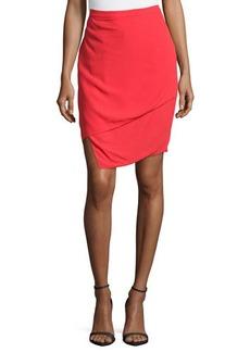 J Brand Ready to Wear Asymmetric Layered Skirt