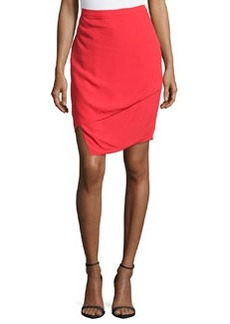 J Brand Ready to Wear Asymmetric Layered Skirt, Masai