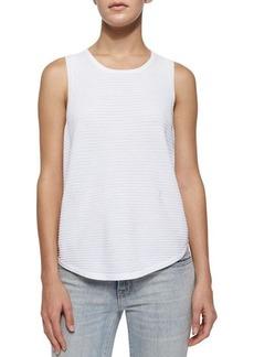J Brand Ready to Wear Candice Rib-Knit Tank