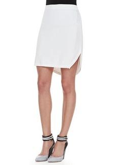 J Brand Ready to Wear Carol Round-Hem Sweater Skirt