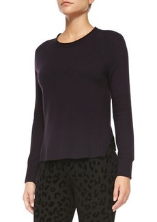 J Brand Ready to Wear Cashmere Eugenia Crewneck Sweater