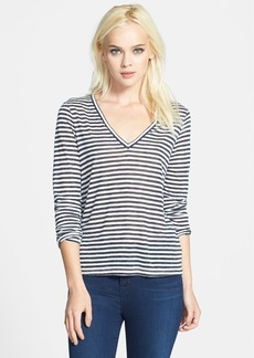J Brand Ready-To-Wear 'Cindy' Stripe Jersey Top