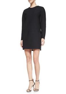 J Brand Ready to Wear Colleen Long-Sleeve Scuba Dress