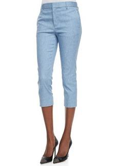 J Brand Ready to Wear Davis Ankle-Cropped Trouser Pants