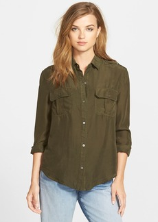 J Brand Ready-To-Wear 'Edie' Silk Shirt