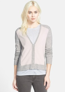 J Brand Ready-To-Wear 'Edie' Zip Cardigan