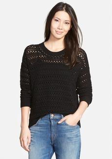 J Brand Ready-To-Wear 'Flower' Merino Wool Sweater