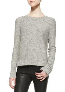 J Brand Ready to Wear Helms Knit Bateau-Neck Sweater