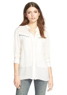 J Brand Ready-To-Wear 'Irina' Zip Pocket Shirt