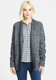 J Brand Ready-To-Wear 'Ivanka' Cotton & Wool Shawl Collar Cardigan