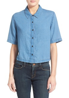 J Brand Ready-To-Wear 'Janet' Cotton & Silk Shirt