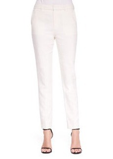 J Brand Ready to Wear Jennie Paper-Cloth Straight-Leg Pants