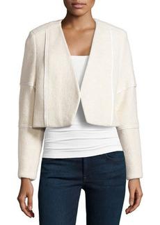J Brand Ready to Wear Knit V-Neck Jacket