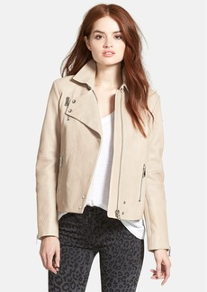 J Brand Ready-To-Wear 'Lais' Lambskin Leather Moto Jacket