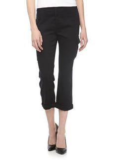 J Brand Ready to Wear Lara Drop-Rise Cropped Cargo Pants