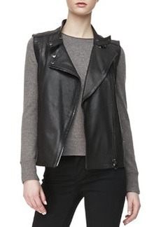 J Brand Ready to Wear Madisyn Leather Vest