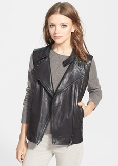 J Brand Ready-To-Wear 'Madisyn' Leather Vest