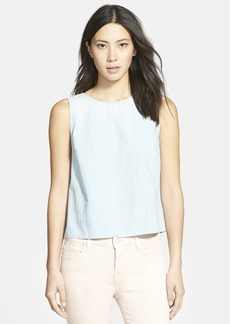 J Brand Ready-To-Wear 'Maple' Sleeveless Chambray Top