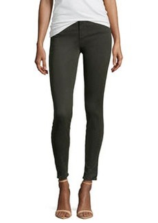 J Brand Jeans Maria High-Rise Skinny Sateen Jeans, Presidio