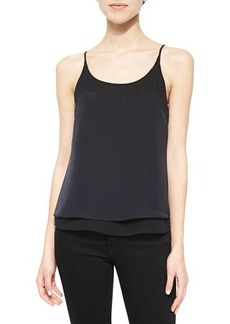 J Brand Ready to Wear Marlena Layered Sleeveless Top
