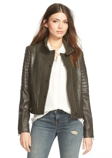 J Brand Ready-To-Wear 'Marshall' Leather Jacket
