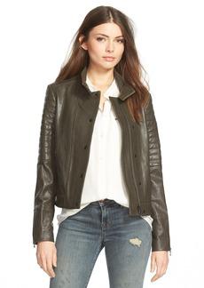 J Brand Ready-To-Wear 'Marshall' Leather Jacket