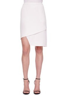 J Brand Ready to Wear Maryse Notched Crossover Skirt