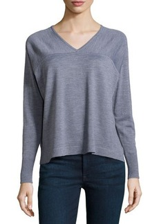 J Brand Ready to Wear Merino Long-Sleeve Sweater