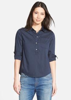 J Brand Ready-To-Wear 'Mira' Stripe Poplin Shirt