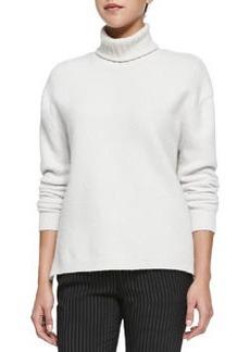 J Brand Ready to Wear Nana Turtleneck Sweater W/ Side Zips