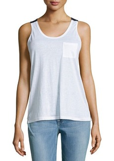 J Brand Ready to Wear Pocket Colorblock Tank