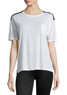 J Brand Ready to Wear Pocket Colorblock Tee