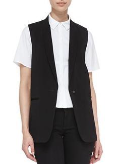 J Brand Ready to Wear Poitier Oversize Suit Vest