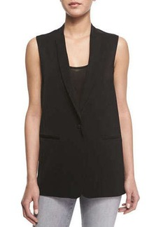 J Brand Ready to Wear Portier Long Suiting Vest