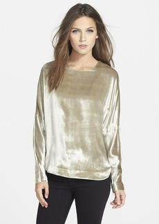 J Brand Ready-To-Wear 'Romy' Velvet Top