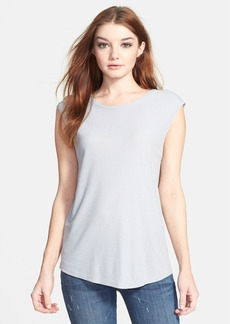 J Brand Ready-To-Wear 'Sal' Cap Sleeve Tee