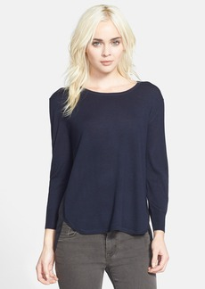 J Brand Ready-To-Wear 'Selita' Mixed Media Sweater