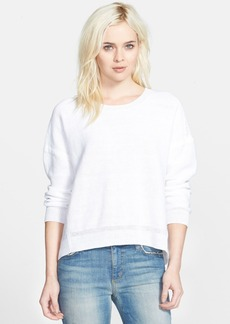 J Brand Ready-To-Wear 'Shannan' Linen Sweater