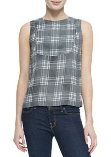 J Brand Ready to Wear Sleeveless Bianca Blouse