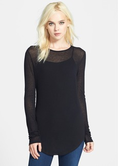 J Brand Ready-To-Wear 'Sophia' Long Sleeve Tee