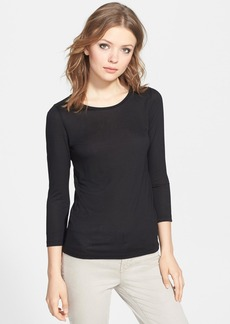 J Brand Ready-To-Wear 'Sophie' Bracelet Sleeve Tee