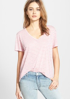 J Brand Ready-To-Wear Stripe V-Neck