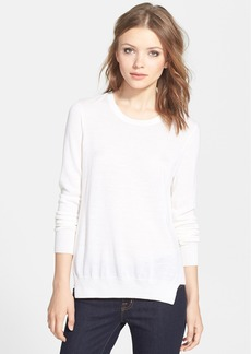 J Brand Ready-To-Wear 'Theodate' Mixed Media Sweater
