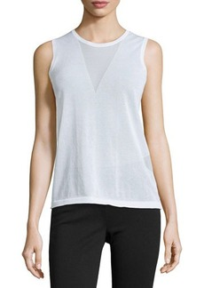 J Brand Ready to Wear Triangle Sweater Tank
