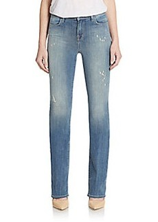 J Brand Remy Distressed Bootcut Jeans