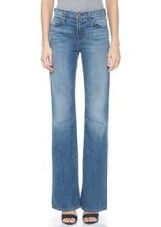 J Brand Sabine High Waisted Flare Jeans
