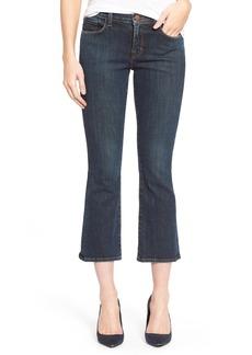 J Brand 'Selena' Crop Bootcut Jeans (Lonesome)