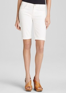 J Brand Shorts - Beau Mid Rise Cut Off Bermuda in Awaken